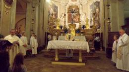 Don Gianni Mazzali, ingresso nella parrocchia di Villarbasse