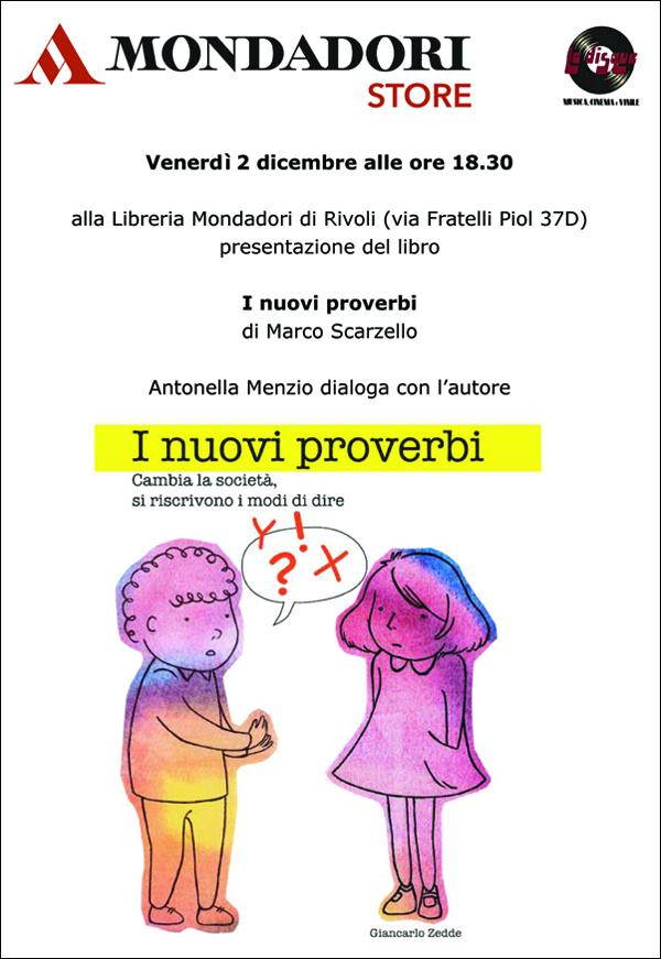"""I nuovi proverbi"" a Rivoli"