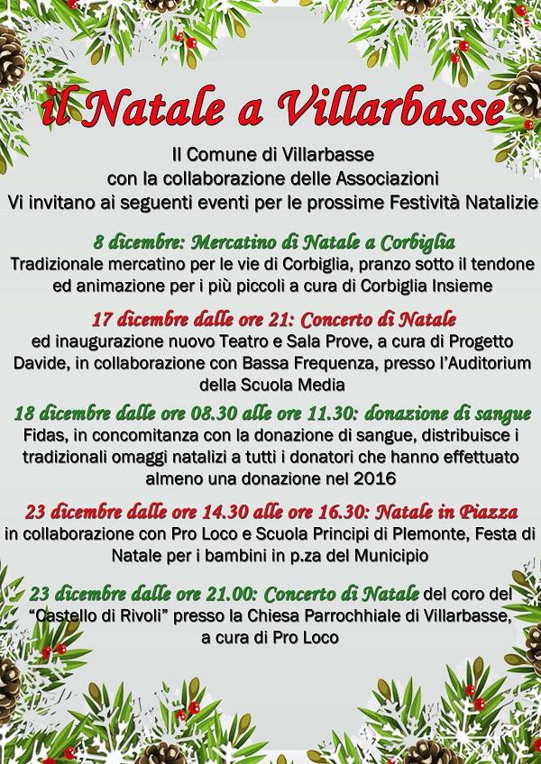 Natale a Villarbasse