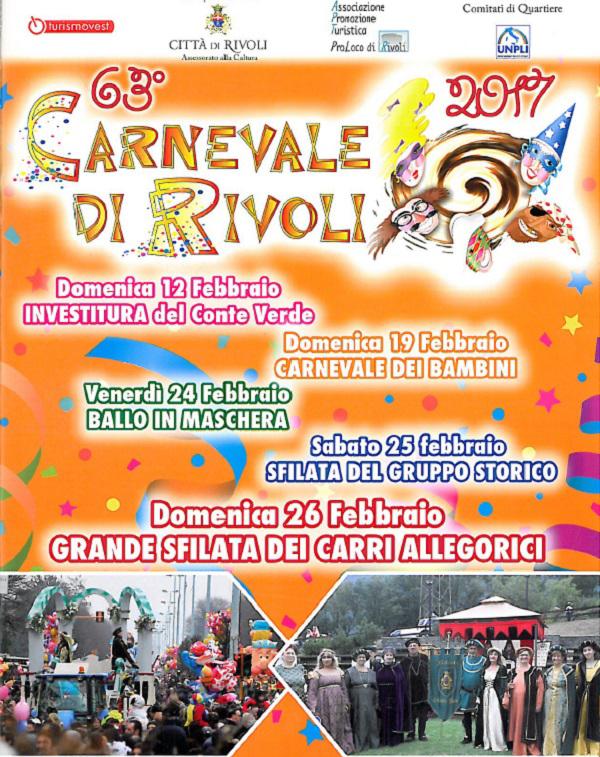 Carnevale Rivoli 2017