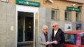 Da sinistra, il sindaco Eugenio Aghemo con Beppe Rosso