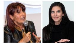 Da sinistra, Daniela Ruffino e Marzia Casolati