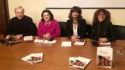 Di sinistra il sindaco Eugenio Aghemo, Annalisa D'Errico, Cinzia Ravallese, Antonella Menzio