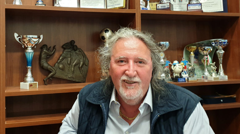 Loris Cappelli, presidente Usd Villarbasse