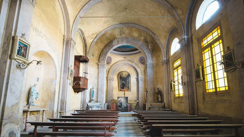 La chiesa di Sant'Agostino ad Avigliana (foto Edoardo Schiari – LABS)